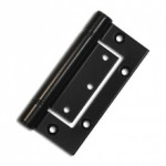 QF7 Hinge Black Powder coated (20601)