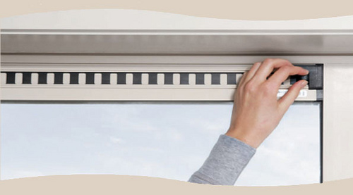Easy Air Vent - Inside close up (Courtesy of Force3 Homes)