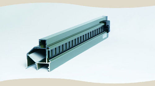 Easy Air Vent - Double Glazed, Cross Section